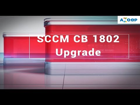 Step by Step SCCM CB upgrade to 1802 Primary Standalone - SCCM Primary  Upgrade Video Guide