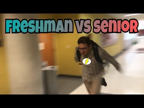 FRESHMAN VS SENIORS