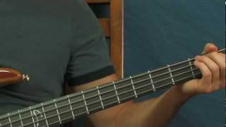 easy bass guitar song lesson friends in low places garth brooks country