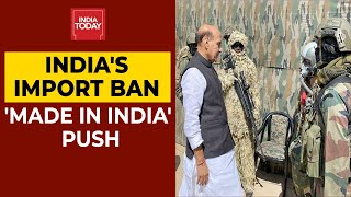 Self-Reliance Push: Defence Ministry Bans 101 Import Items| Atmanirbhar Bharat
