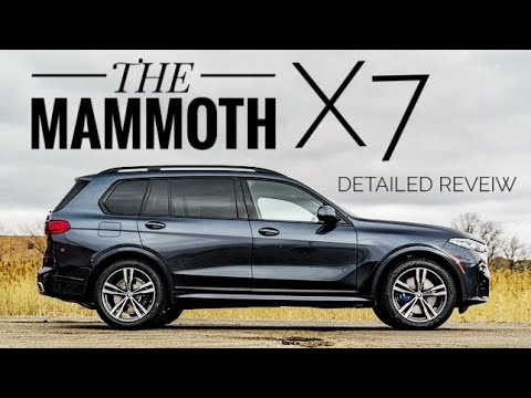 Real Life review on the BMW X7 - The Mammoth