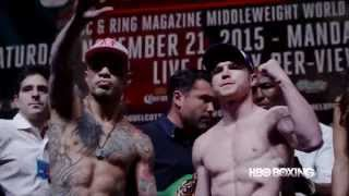 HBO Boxing News: Cotto vs. Canelo Weigh-In