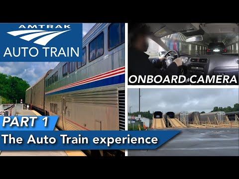 The Amtrak Auto Train experience PART 1