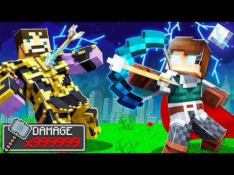 USING THOR'S BOW on THANOS in INSANE CRAFT!
