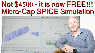 micro-Cap SPICE Simulation is now Free