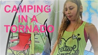 HOME TOUR AND WE GET CAUGHT IN A TORNADO WARNING! Day 215 (08/04/17)