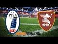Campionato Primavera, Pisa-Salernitana 1-3 (17^ Giornata)