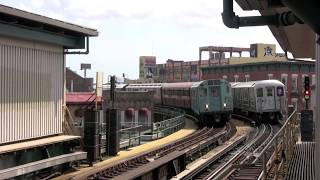 IRT Museum Subway Train on Flushing Line - July 2013 by trainluvr