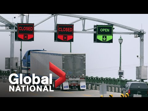 Global National: March 18, 2020   Canada tackles coronavirus with border closure, economic package