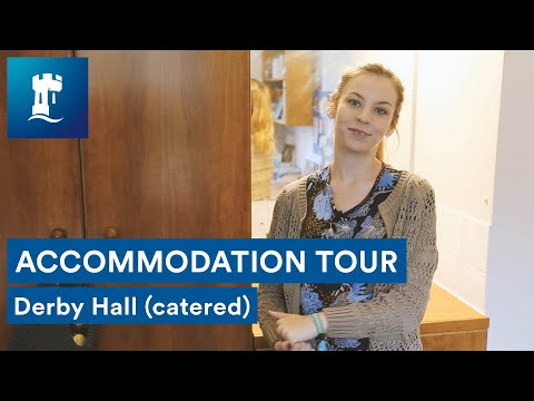 Uni Park Campus - Derby Hall tour (catered accommodation)