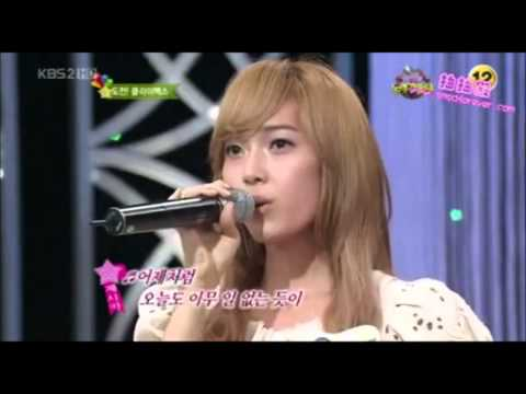 SNSD Jessica singing part compilation in Good Song