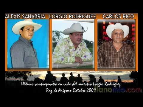 LORGIO RODRIGUEZ, CARLOS RICO, ALEXIS SANABRIA, CONTRAPUNTEO, VIVO, PAZ DE ARIPORO