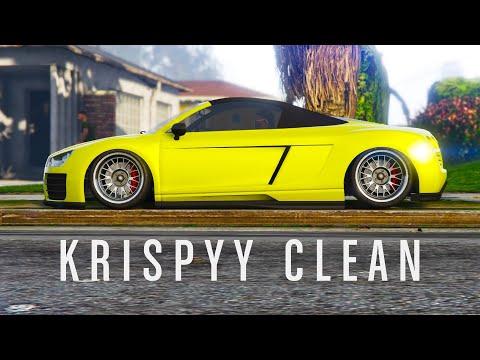 Krispyy Clean | GTA Online Car Meet | stanced cars in GTA Online