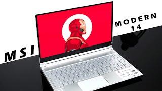 Trên tay MSI Modern 14 A10M: Đẹp không chỗ chê, intel thế hệ 10, giá dưới 19 triệu