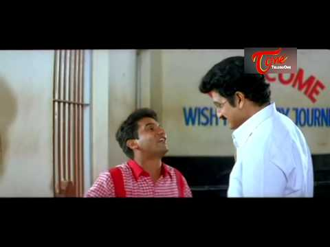 Best Romantic Scenes of Tollywood || #165 || Vijay Sai Enjoy With Aunty At Railway Ticket Counter