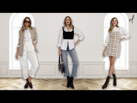 How To Style A White Button-Down | Everyday Outfit Ideas