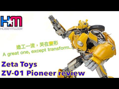 Zeta Toys ZV-01 Pioneer Review