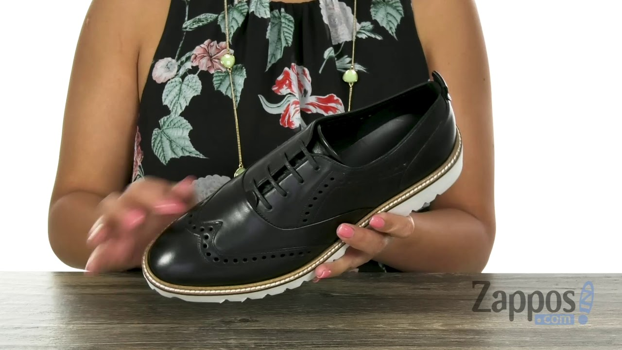 8d008ed482388 ECCO Incise Tailored Wing Tip SKU: 9133398 - YouTube