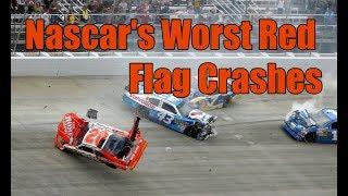 Nascar's Greatest Red Flag Crashes
