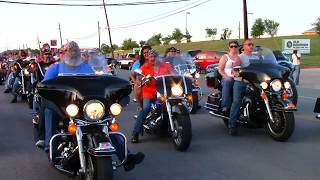 ROT RALLY 2014 - AUSTIN TEXAS (June 13, 2014)  - Leaving Travis County Expo Center
