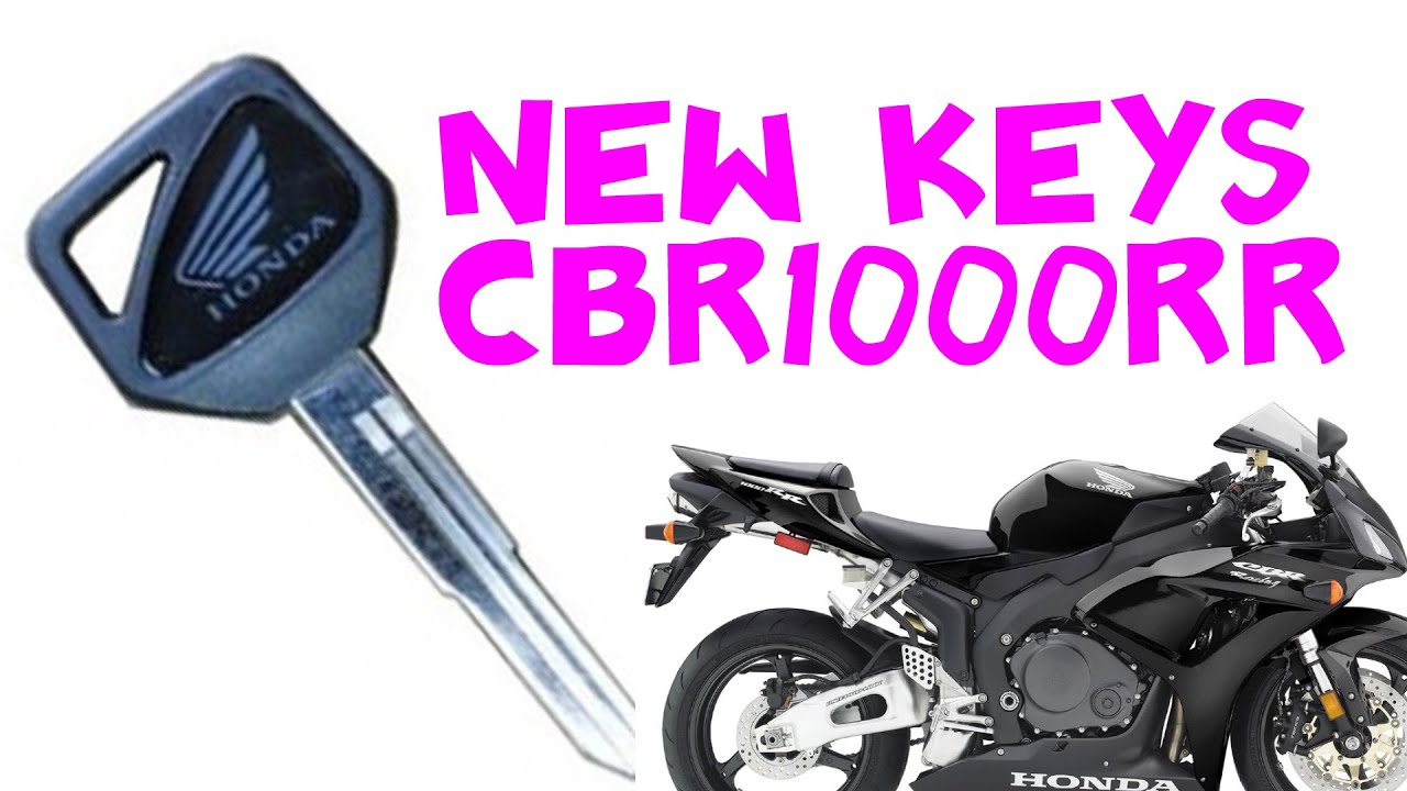 Making A Spare Hiss Key For Honda Cbr1000rr 2006