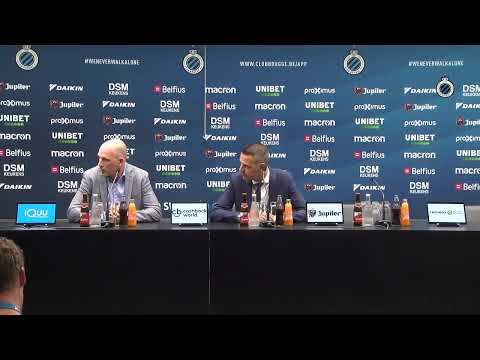 CLUB BRUGGE | DE PERSCONFERENTIE NA #CluDyn | 2019-2020