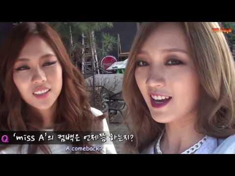 [ENG SUB] 131019 miss A Fei & Jia van talk