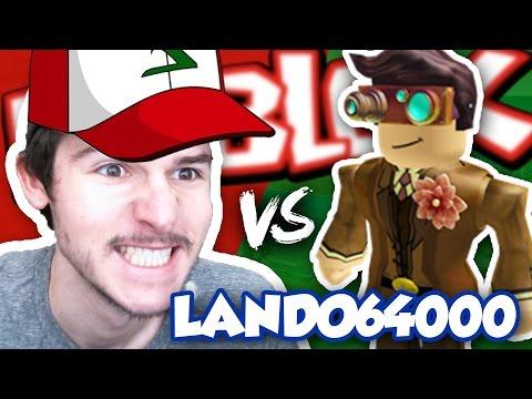 Battling The Creator Of Pokemon Brick Bronze Lando64000 / RussoPlays