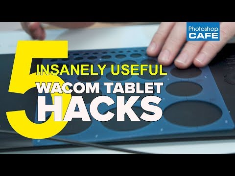 5 WACOM tablet HACKS, that are insanely useful.