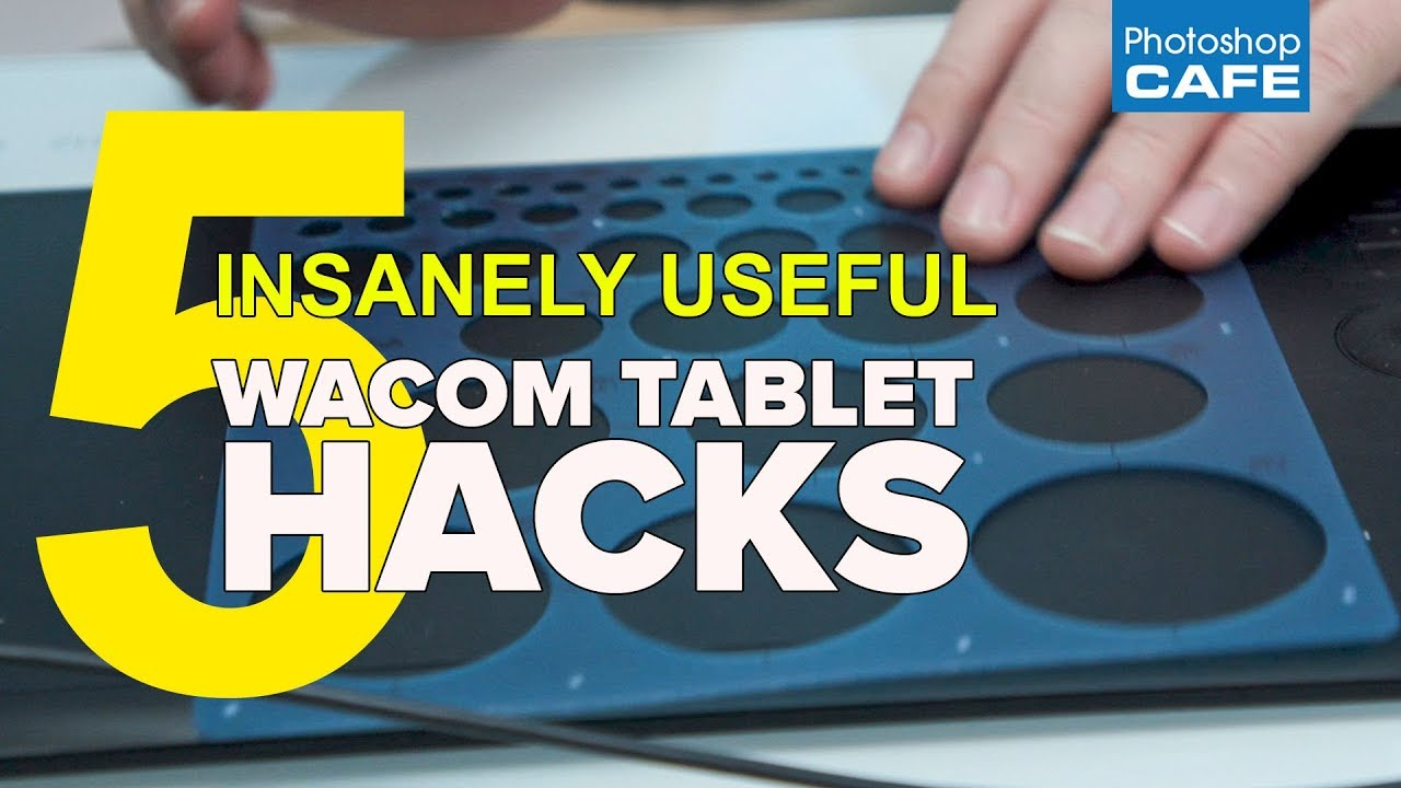 5 Wacom Tablet Tips, useful hacks - PhotoshopCAFE