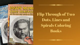 Flip Through of Two More Dots, Lines and Spirals Coloring Books