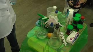 День Рождение МАКСА,химическое шоу,поздравления