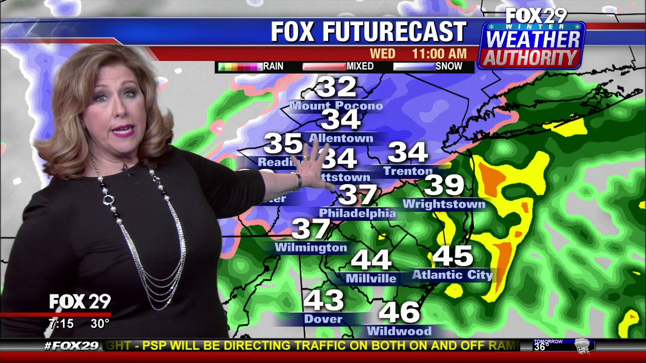 Snow ends late Friday night, next chance arrives Sunday: Pinpoint ...