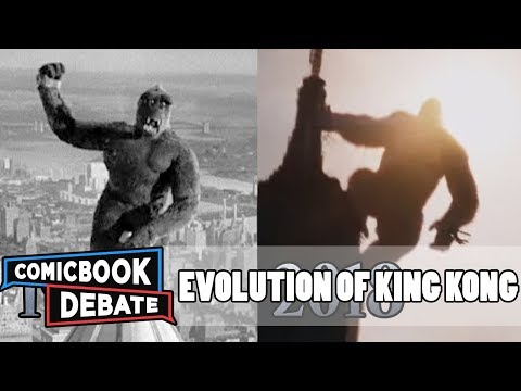 Evolution of King Kong in Movies & TV in 6 Minutes 2018