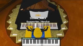 Perfect - Ed Sheeran on ROBLOX Piano