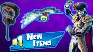 NEW Day of the Dead Skins & Items Fortnite Live Stream!