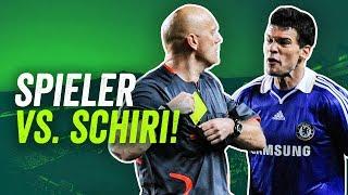 Buffon, Ronaldo, Ballack: Schiedsrichter vs. Spieler - Die krassesten Auseinandersetzungen!