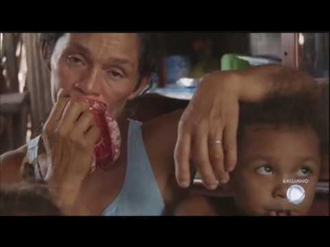 Com o marido doente, mãe não tem o que oferecer de comida para os 15 filhos