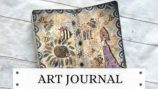 ART JOURNAL - Beekeeper Queen 🐝🐝🐝