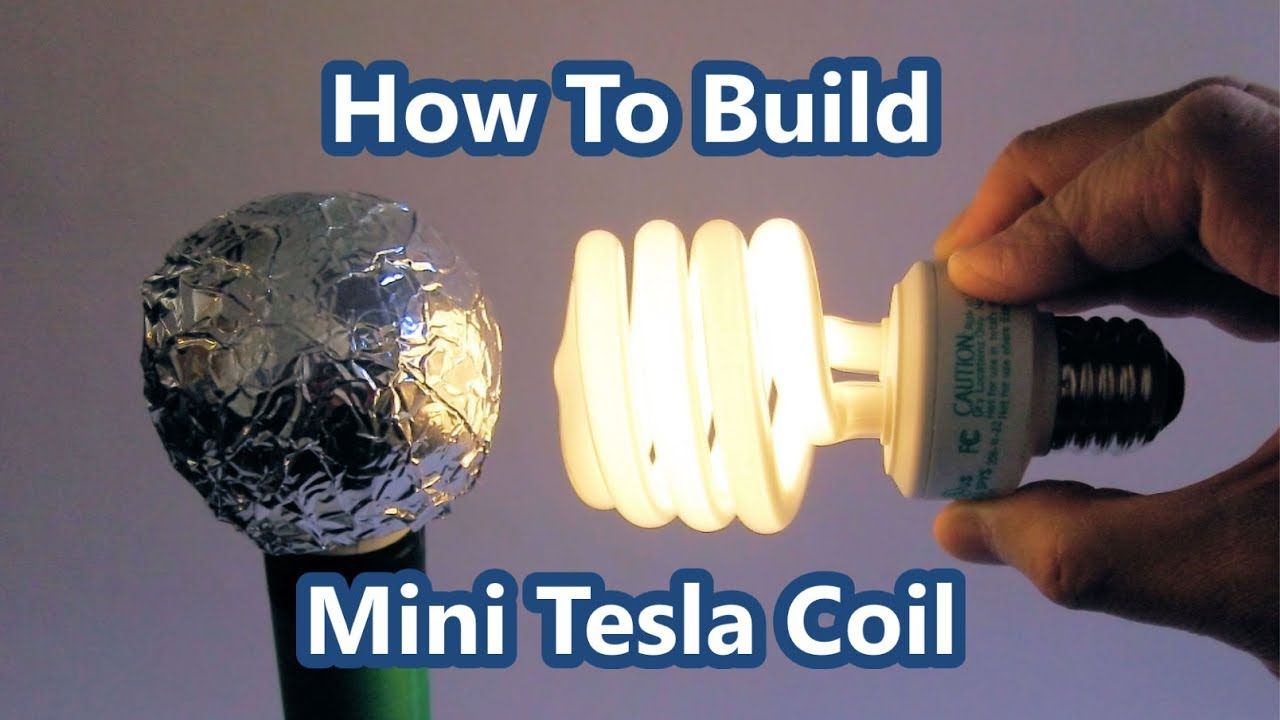 How to make a Mini Tesla Coil - Slayer Exciter : Eye-On-Stuff