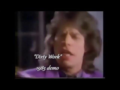 The Rolling Stones - Dirty Work demo