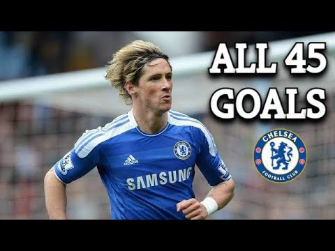Download Fernando Torres All 45 Goals For Chelsea I 2011-2014