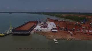 Cérémonie d'inauguration du Port de Boké-Dapilon