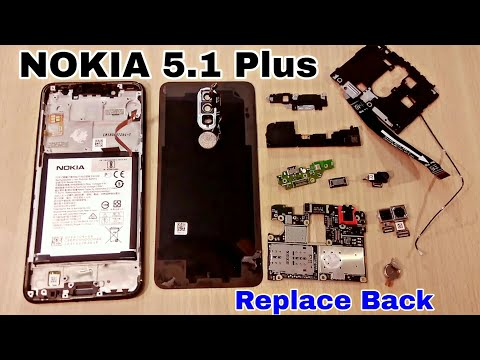 NOKIA 5.1 Plus Teardown | Disassemble | Replace Back Panel | Display | Repair |  Open Back Cover