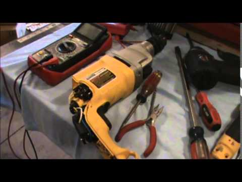 hqdefault troubleshooting a broken dewalt dw515 hammer drill youtube  at nearapp.co