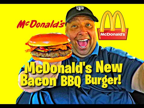 McDonald's® New Bacon BBQ Burger REVIEW!