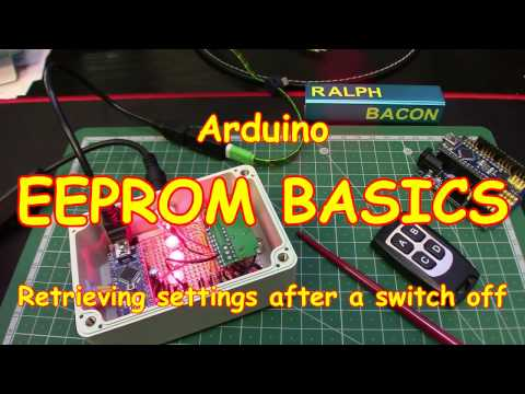 #65 Arduino EEPROM Basics - easy to do and useful to implement