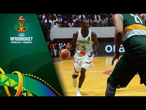 Senegal v South Africa - Full Game - FIBA AfroBasket 2017