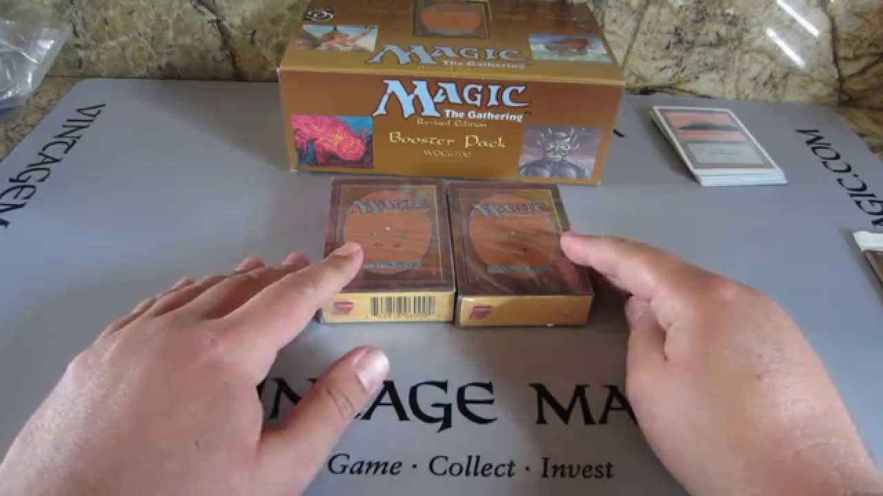 Alpha Vs Beta Booster How To Tell The Difference Mtg Magic