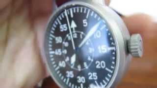 Reloj LACO PILOT 42 Tipo B Manheim 861695 Carga manual 490€